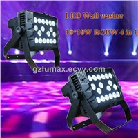 New LED Wall Washer 18*10W RGBW 4 in 1 Stage Light/LED Effect Light