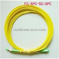 SC-FC Fiber Patch Cord (APC Single Mode Simplex )