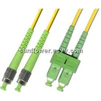 Single mode SC-ST(APC) patch cord(duplex)