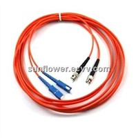 Multi mode SC-ST(PC/UPC) patch cord(duplex)