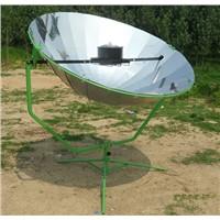 parabolic 24 pieces of mirror aluminum solar cooker oven