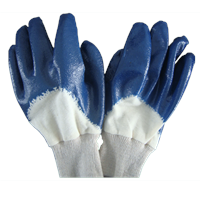 safety dipping gloves nitrile