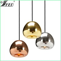 Tom Dixon Void Light Mini Copper Pendant Light