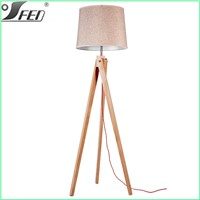 Fashinable popular modern bedroom & living room decor floor lamp