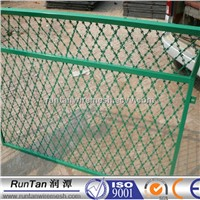CBT-65 BTO-22 galvanized & powder coated razor barbed wire anping factory