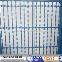 Cheap price PVC coated razor barbed wire mesh