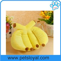 Dog Bed Manufacturers New Soft Cozy Yellow Banana Pet Beds Wholesale