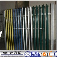 best quality pvc coated exporting green Euro Iron Fence