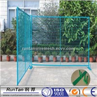 Temporary safety wire mesh fence  for swimming pools