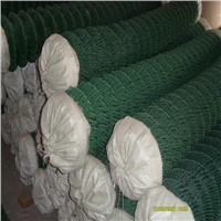 5ft plastic pvc coated green diamond chain link wire mesh fence