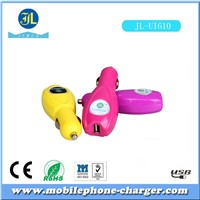 Fast charging ,hand-grip finishing and hot sales USB car charger