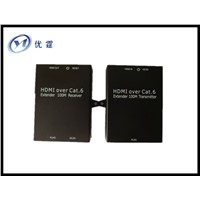 HDMI Extender 100m with single cat-5e/6/7 cables HDMI 1.3  HDCP1.2