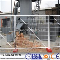 Hot dipped galvanisad temporary barrier