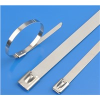 Stainless Steel Cable Tie,Ball Lock, 304 & 316
