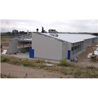 Steel Chicken House Manufacture