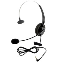 Single Ear Version Phone Headset With 3.5mm Headset Connector For iphones,ipads,HTC