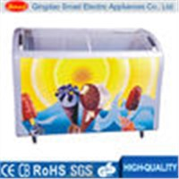 388L,518LCommercial display ice cream freezers price