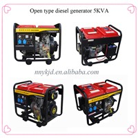 China quality diesel portable generator 5kva at discount price