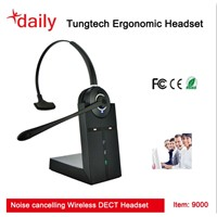 Wireless Telephone Headset With DECT Function,120 Hours Long Standby Time