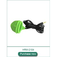 Pulse Sensor Silicone Finger Clip Gym Equipment Accessory