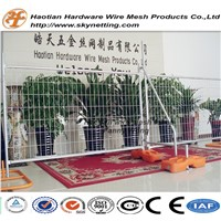 hot dipped galvanized round pipe frame australia welded wire mesh temporary fence panel