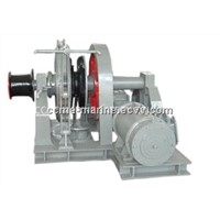 Marine electric hydraulic anchor windlass