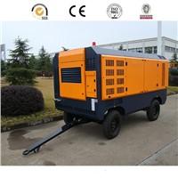 DACY-12/10 Portable diesel driven double screw air compressor