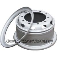Steel Truck Wheels 8 holes/ Tubeless Truck Wheel Rims 22.5x8.25
