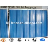 color hoarding temporary fence for construction sites