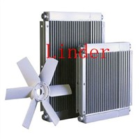 oil air cooler used in air compressor