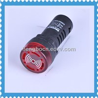 AD16-22SM  Flashing Buzzer 22mm LED Buzzer Indicator Light