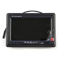 High resolution 7 inch TFT LCD  car  monitor screen