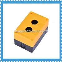 control button box 2 way plastic push button switch box