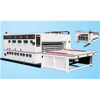 4 color corrugated carton box flexo printing machine