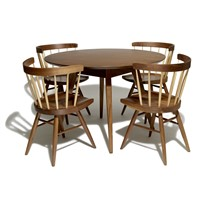 Hot sale dining room furniture solid wood dining tables and chairs modern dining sets home furniture