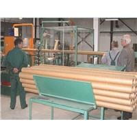 Craft paper core tube making machine