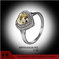 Heart shaped peridot beautiful fine engagement rings