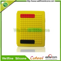 Lego blocks fashion silicone ipad protective cases factory