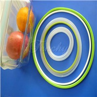 Silicone airtight seals/gaskets for food containers/lunch box