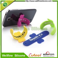 Touch-U mobile phone holder in soft silicone material made of manufacturer