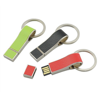 USB drive ,Leather USB Flash Memory, Available in Various Capacities