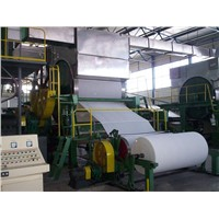 Coating white board paper making machine