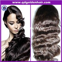 Golden Hair High Quality Virgin Remy Human Hair Wholesale Wigs