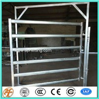 Wholesale Galvanized Steel Cattle Livestock Corral Horse Stall Panels