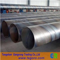 low carbon or mild steel spiral welded pipe