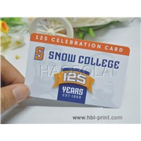 offset printing PVC cards with round corner