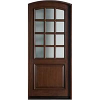 Wood French Doors Exterior HD B10026 China Wood French Doors Exterior YA
