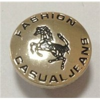 Enamel Single Tack Jeans Button