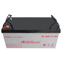 Gel battery 12V 200Ah for solar use
