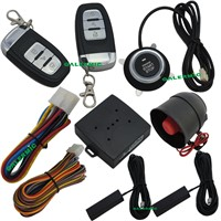 Push start car system with PKE keyless entry system,remote start,car door lock and unlock